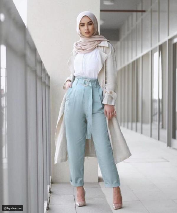 e0dad457e مجلة زهرة السوسن - أزياء المحجبات: قطع أنيقة بامتياز لخريف 2018