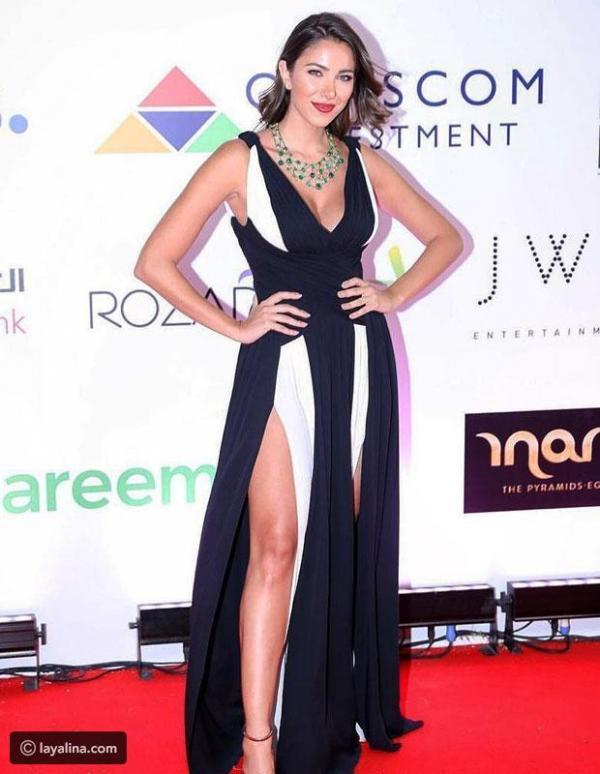 dfa5857b3 مجلة زهرة السوسن - الكشف عن سعر فستان دانييلا رحمة الذي يعد من أجمل إطلالات  مهرجان الجونة